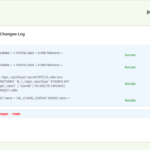 vTiger 6.1 Upgrade Database Log