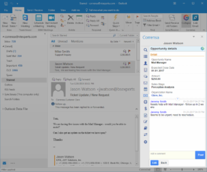 Outlook & VTiger Integration