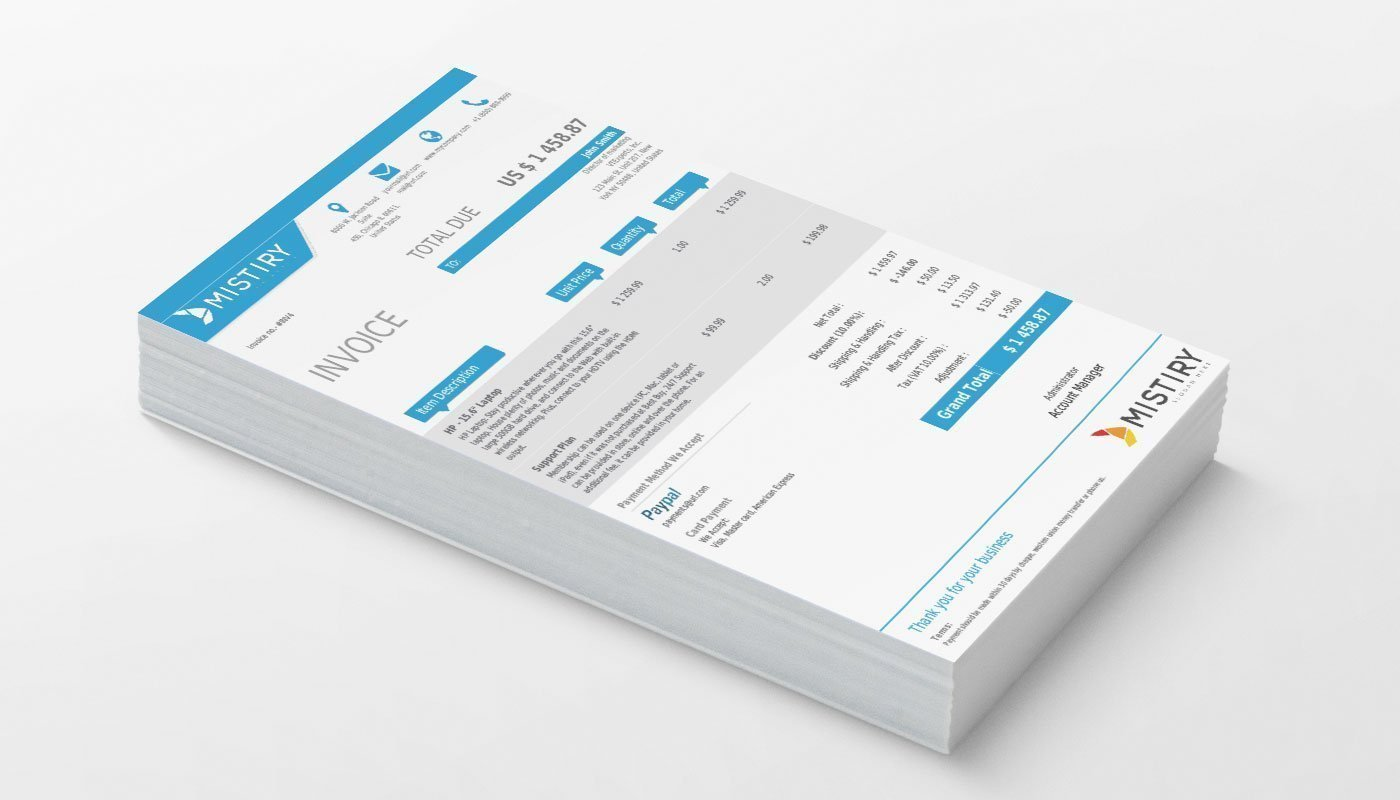 vtiger experts vtiger pdf template quote invoice so po sky vtiger professional pdf template sky blue