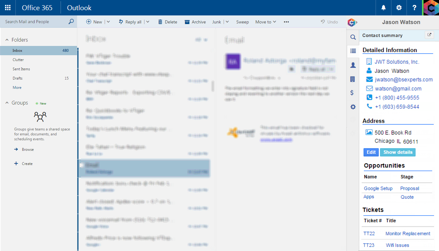Corrensa-Office365-Summary-View-Promo