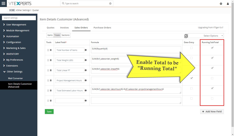 VTiger Item Details Customizer - running totals2