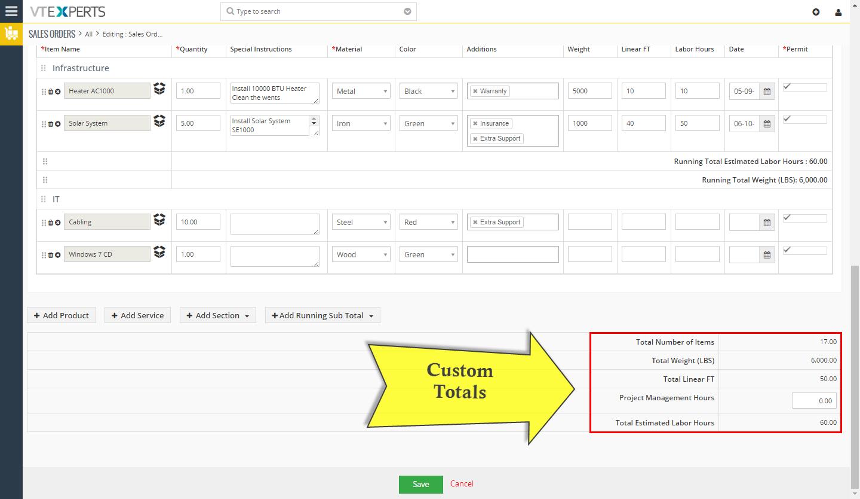 VTiger Item Details Customizer - totals1
