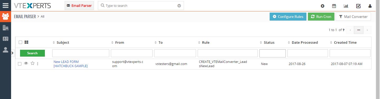 VTiger Email Parser Guide10png