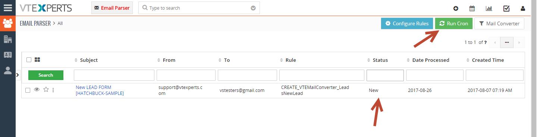 VTiger Email Parser Guide13png