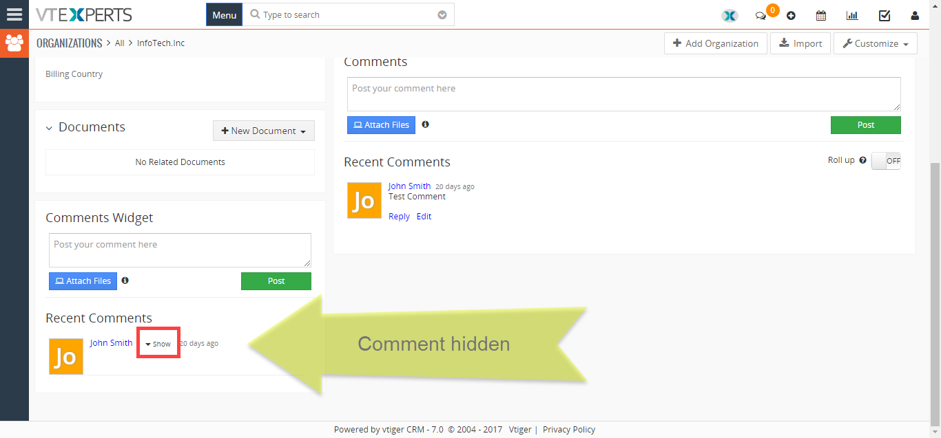 vtiger-extension-pack-premium-summary-widget-show-hide-comment-hidden