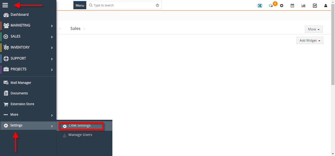 see who and when logged into VTiger 1