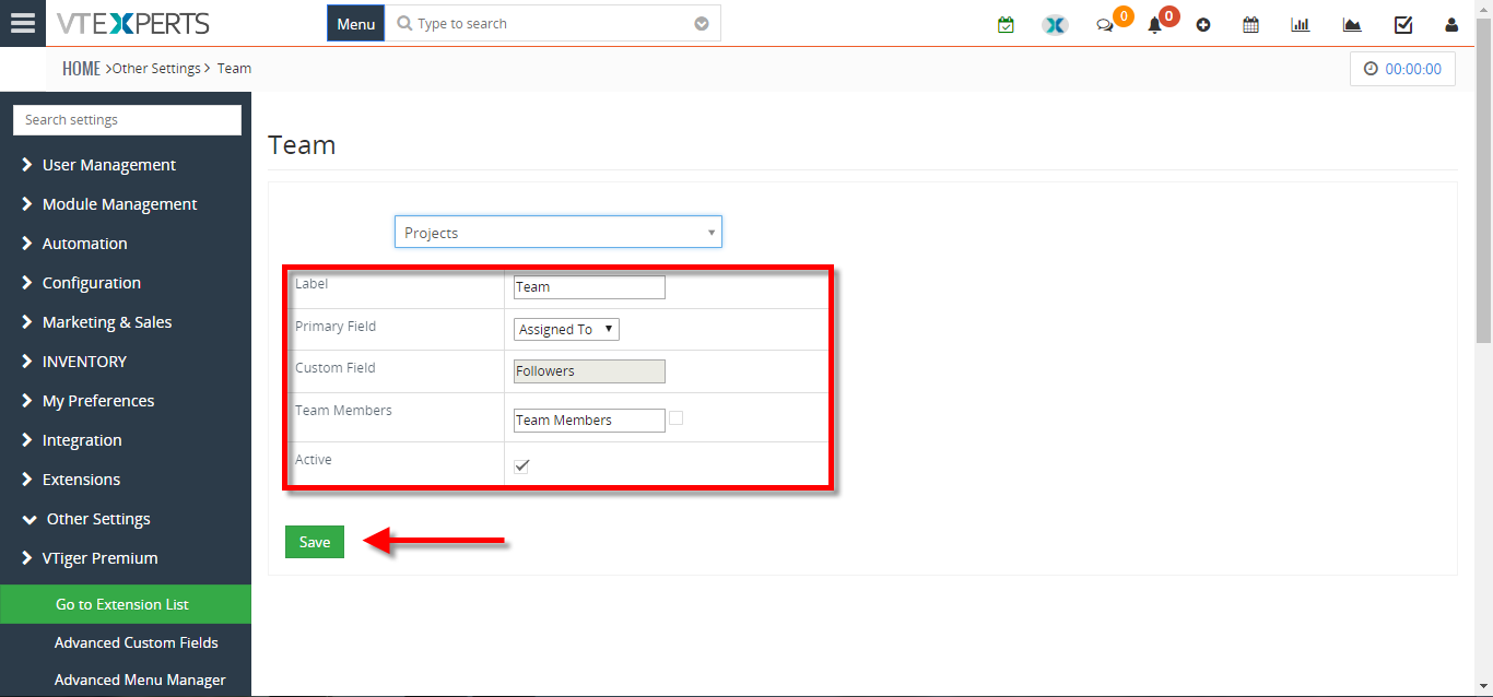 how to assign a record to multiple users or groups in VTiger 4