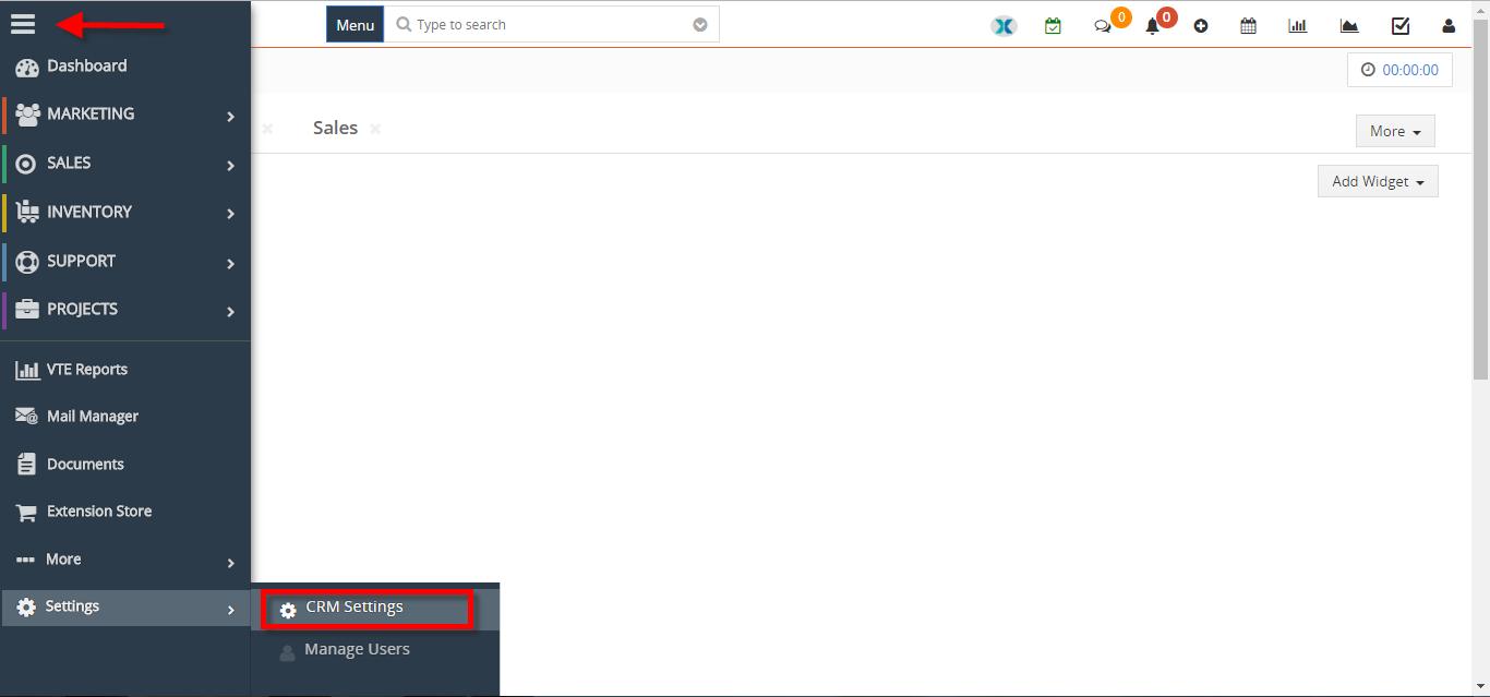 how to create new summary widget 1