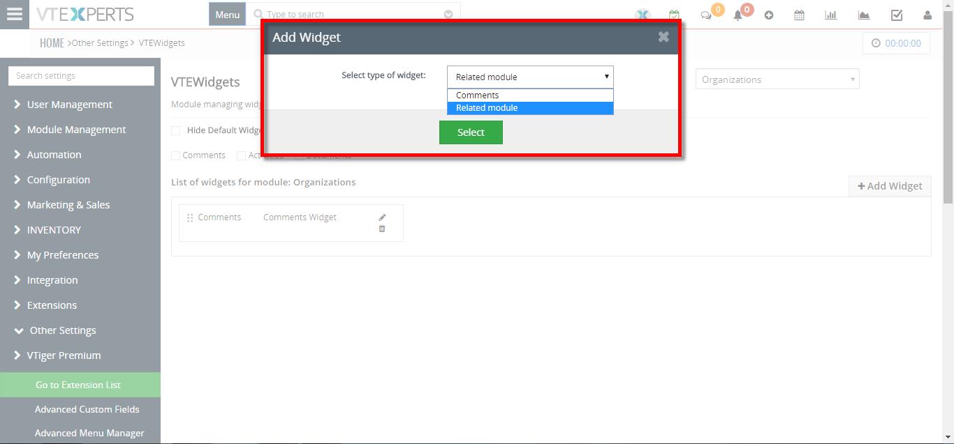 how to create new summary widget 4