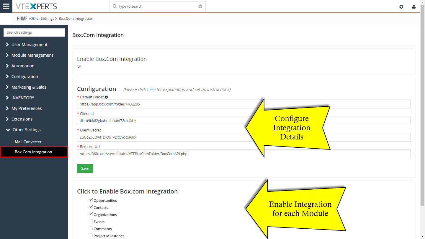 how to create new module in vtiger crm