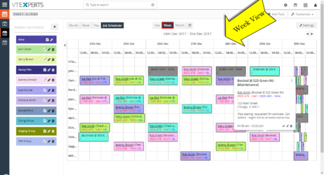 Scheduler (Calendar)