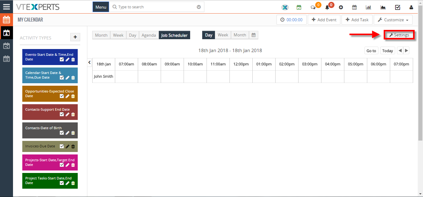 change calendar colors based on Activity Status Type in VTiger 1