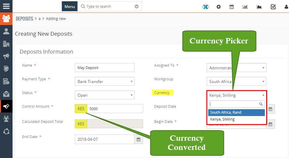 multi currency customization vtiger