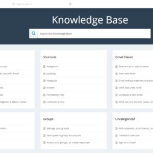 knowledge base extension for VTiger