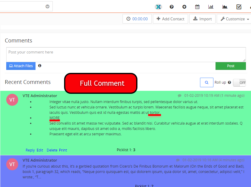 vtexperts vtiger advanced comments smart preview full
