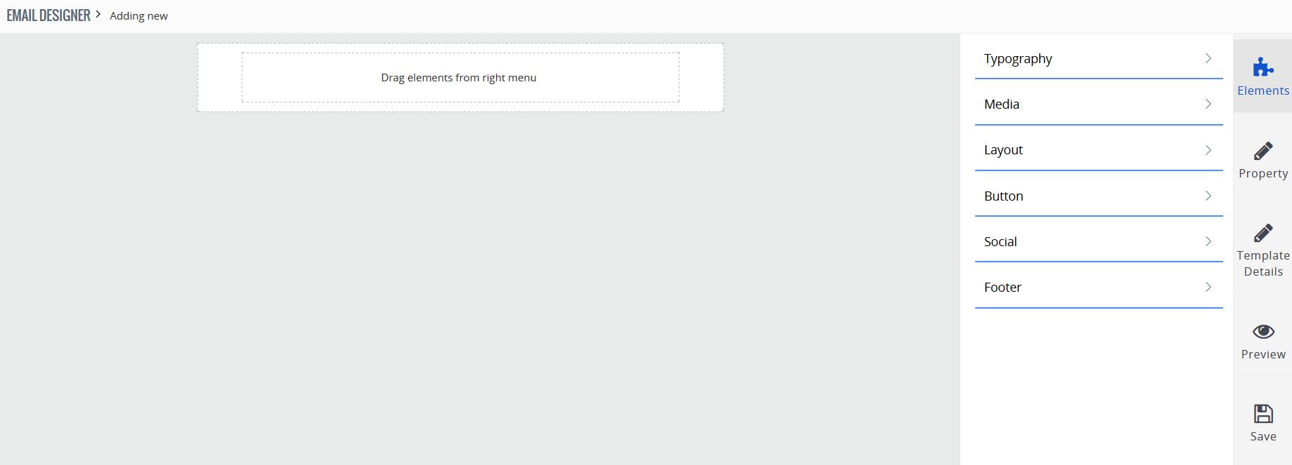 How to configure email designer in VTiger 7