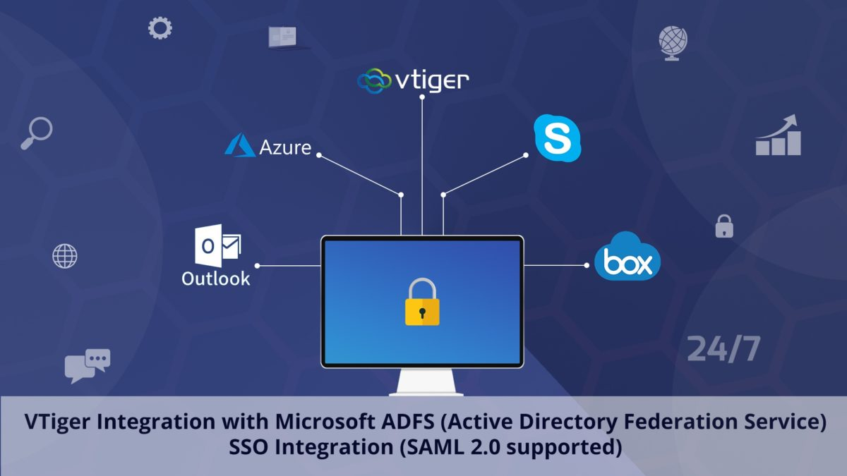 feature image of MS ADFS integration into crm
