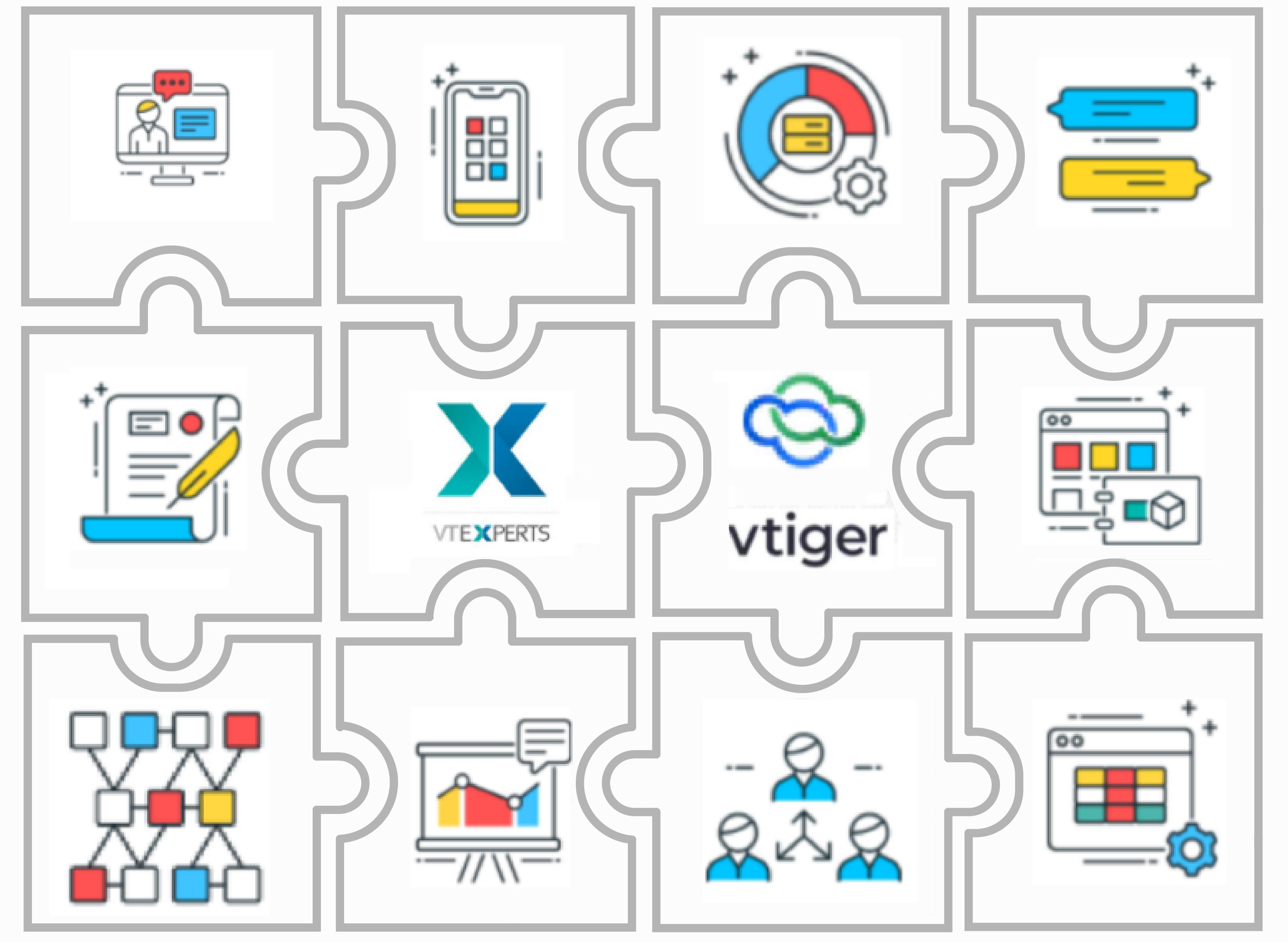 Extension for improving collaboration in CRM