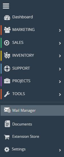 Vtiger CRM Mail Manager